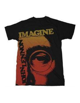Beatles John Lennon Imagination Men's T-Shirt