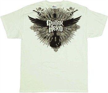 Guitar Hero Winged Guitar T-Shirt