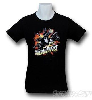 Iron Man 3 WarMachineRox 30 Single T-Shirt