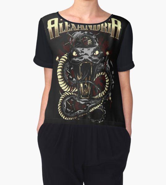 asking alexandria Women's Chiffon Top by bengisulak T-Shirt