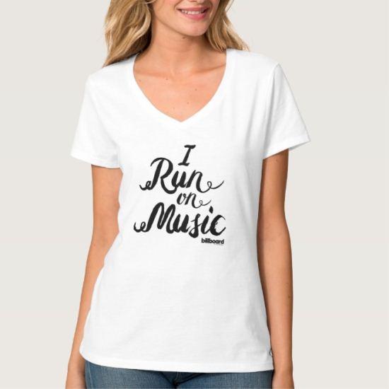 I Run On Music T-Shirt