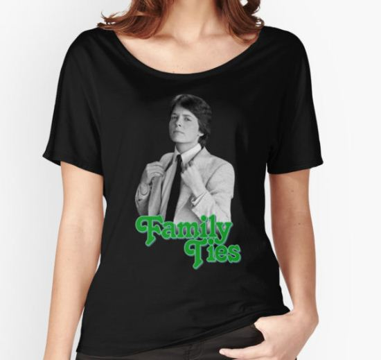 Michael J Fox - Family Ties Women's Relaxed Fit T-Shirt by chris-captures T-Shirt