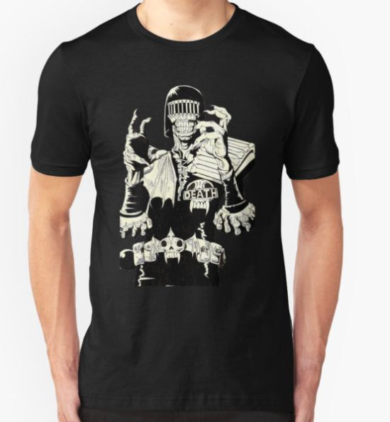 Judge Death T-Shirt by Monochrome-Bib T-Shirt