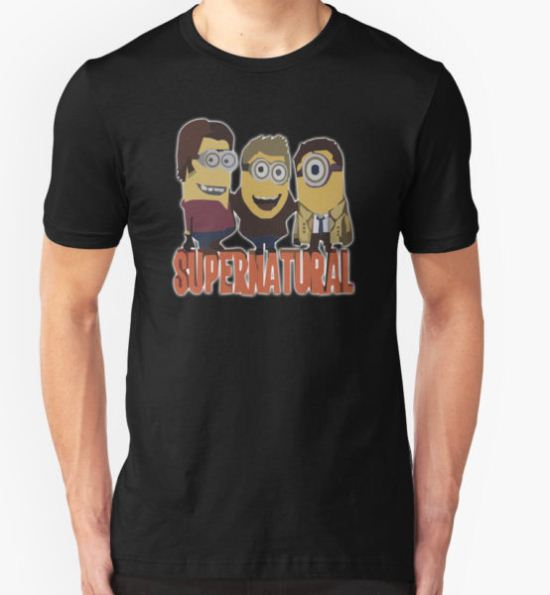 MINIONS T-shirt SUPERNATURAL T-Shirt by Suryati82 T-Shirt