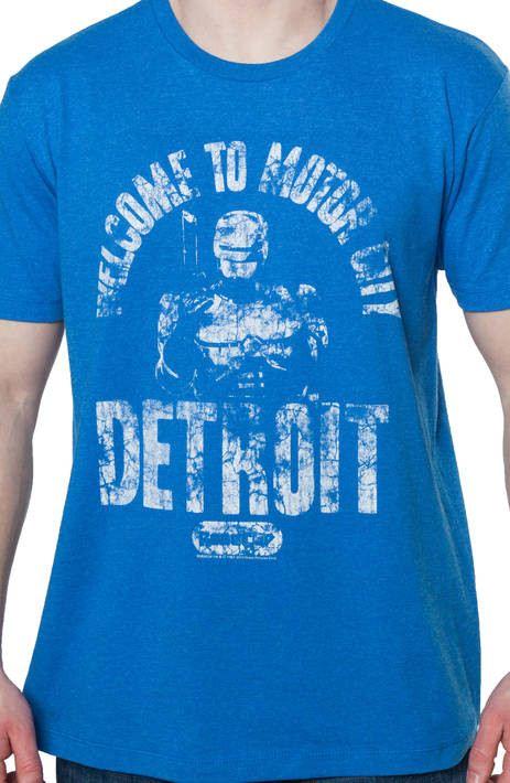 Detroit Robocop Shirt