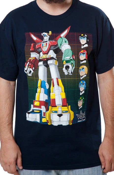 Voltron Faces T-Shirt