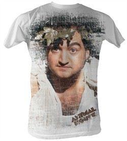 Animal House T-Shirt ? Toga Adult White Sublimation Tee Shirt