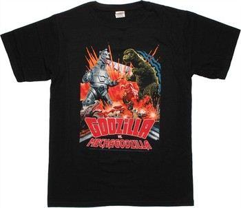 Godzilla vs Mechagodzilla T-Shirt