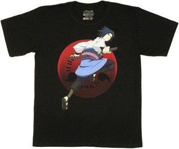 Naruto Shippuden Sasuke Uchiha Sharingan T-Shirt