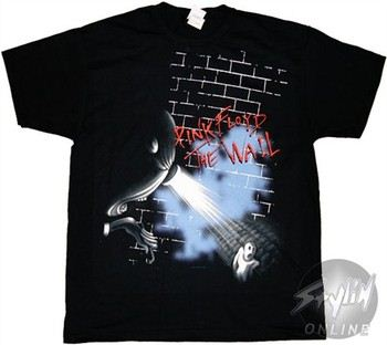 Pink Floyd The Wall Ghost T-Shirt