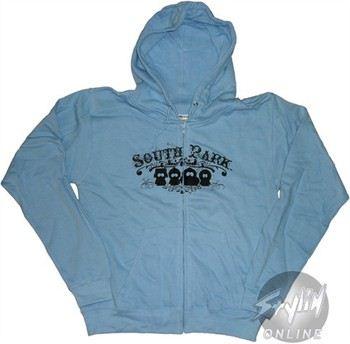 South Park Silhouettes Full Zipper Hooded Sweatshirt