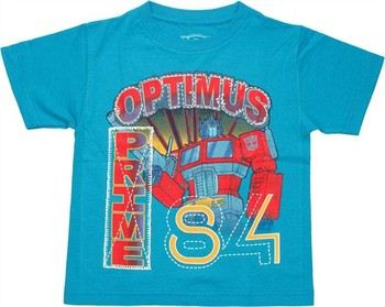 Transformers Optimus Prime 84 Juvenile T-Shirt