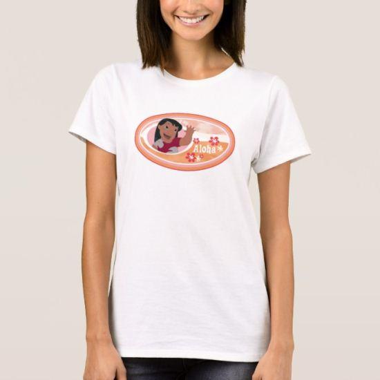 Lilo & Stitch Lilo Aloha design T-Shirt