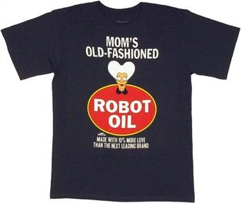 Futurama Mom's Old-Fashioned Robot Oil T-Shirt