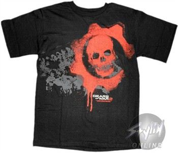 Gears of War 2 Skull T-Shirt
