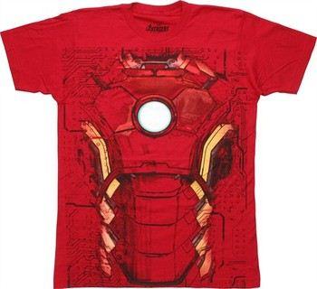 Marvel Iron Man Heart Boys Graphic T Shirt