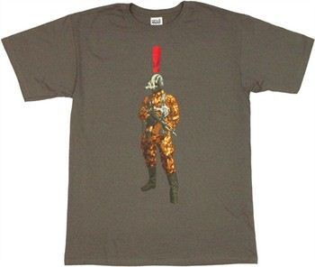 Metal Gear Solid Genome with Exclamation Point T-Shirt