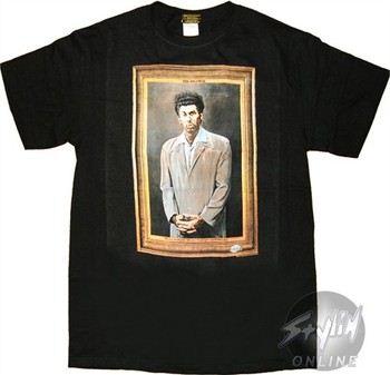 Seinfeld Kramer Portrait T-Shirt