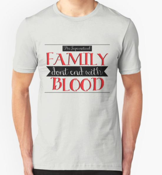 Family Ties v2 T-Shirt by jamiewood T-Shirt