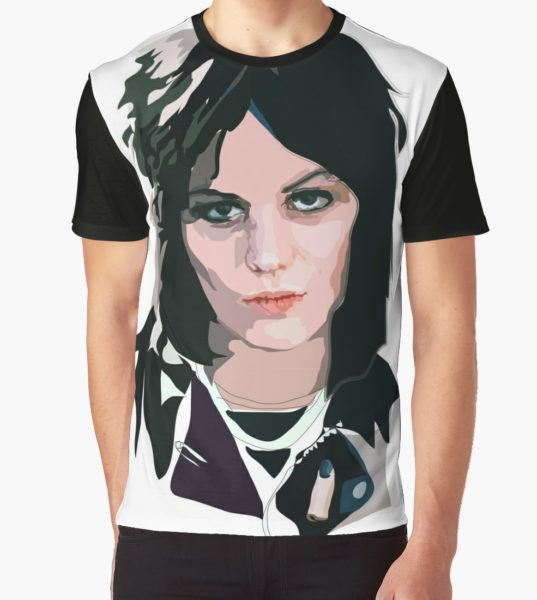 Joan Jett Graphic T-Shirt by Anna McKay T-Shirt