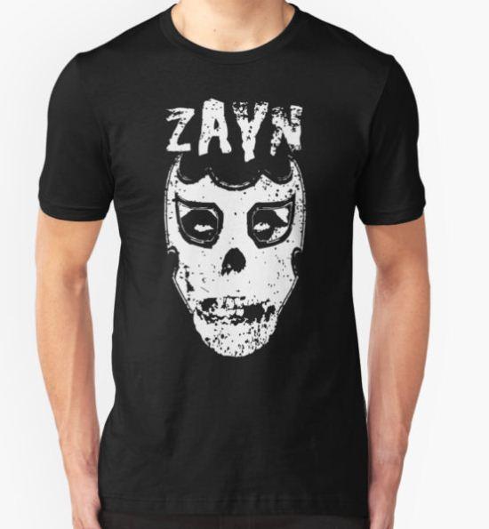 Sami Zayn/Misfits Mashup T-shirt T-Shirt by cultclassicinc T-Shirt