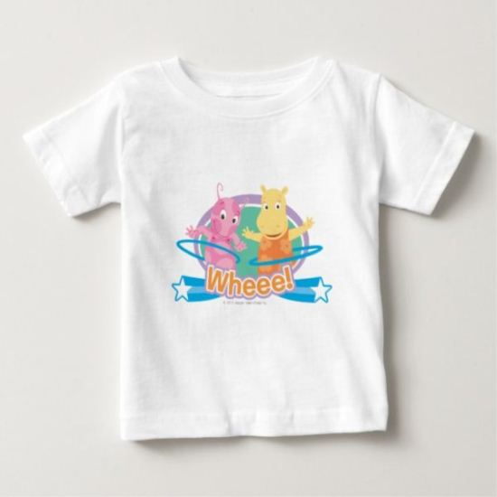 "The Backyardigans | Uniqua & Tasha - ""Whoo!"" Baby T-Shirt"