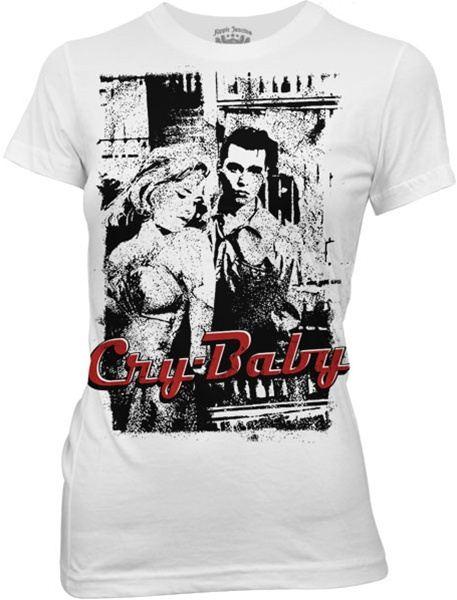 Cry-Baby Please Mr. Jailer White Juniors/Ladies T-shirt