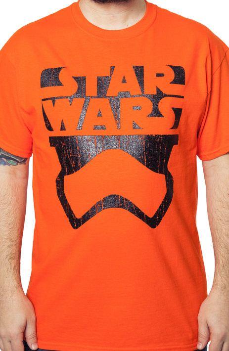 Star Wars Force Awakens Minimal Stormtrooper T-Shirt
