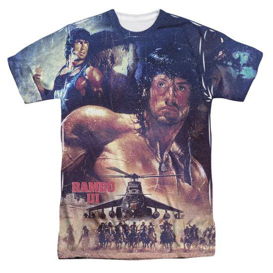 Rambo III No Mercy Sublimation Shirt