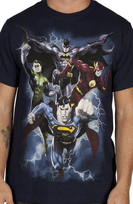 DC Comics Heros Shirt