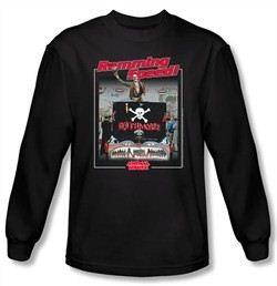 Animal House T-shirt Movie Ramming Speed Black Long Sleeve Tee Shirt