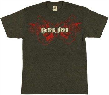 Guitar Hero Flaming Guitars T-Shirt
