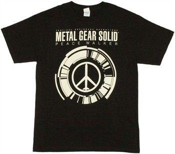 Metal Gear Solid Peace Walker Logo T-Shirt