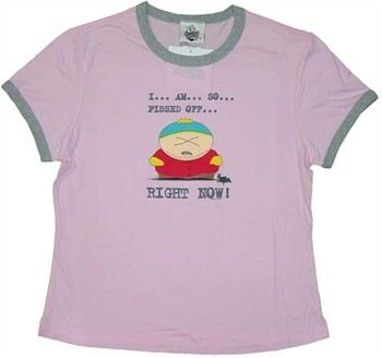South Park Cartman Pissed...Right Now! Baby Tee