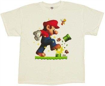 Nintendo New Super Mario Bros Stomp T-Shirt