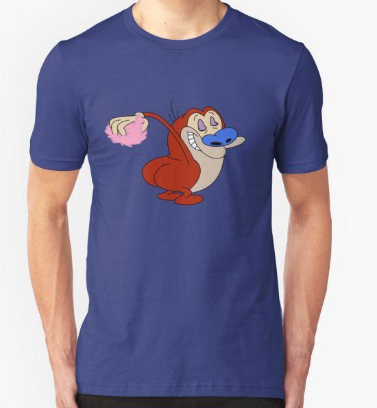 'Stimpy  makeoff!' T-Shirt by lobofeo T-Shirt