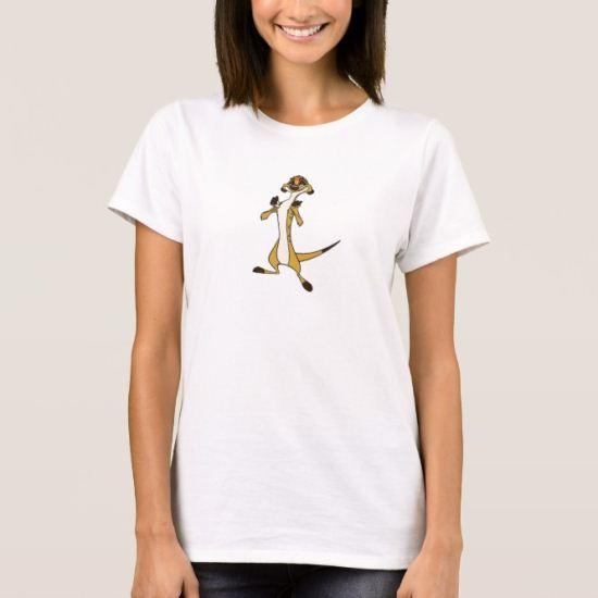 Lion King Timon Standing Smiling Disney T-Shirt