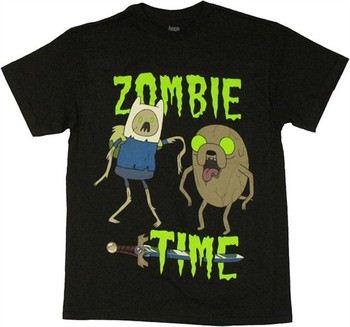 Adventure Time Jake Finn Zombie Time T-Shirt