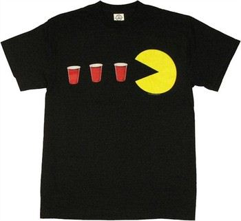 Namco Pac-Man Red Cups Power Up T-Shirt