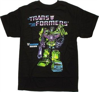 Transformers Devastator G1 Box Art T-Shirt
