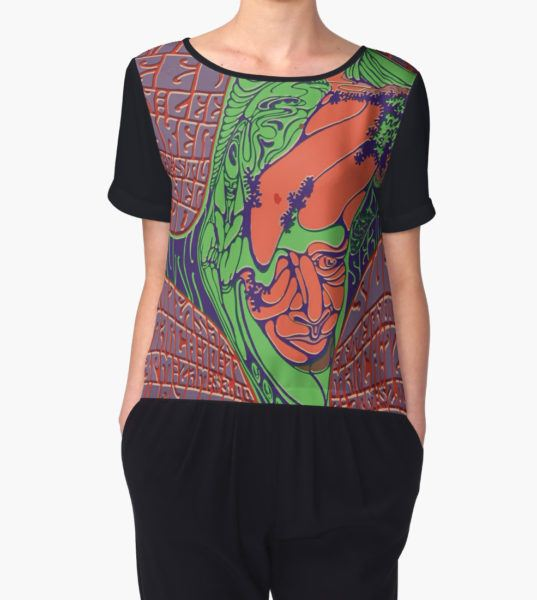Jefferson Airplane Women's Chiffon Top by xedex T-Shirt