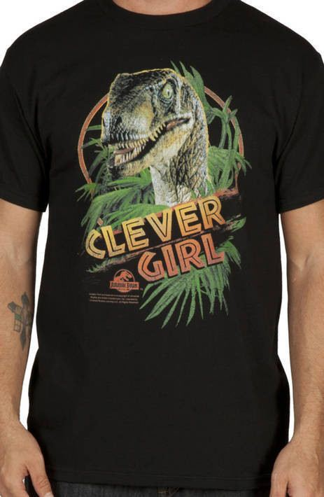 Clever Girl Jurassic Park Shirt