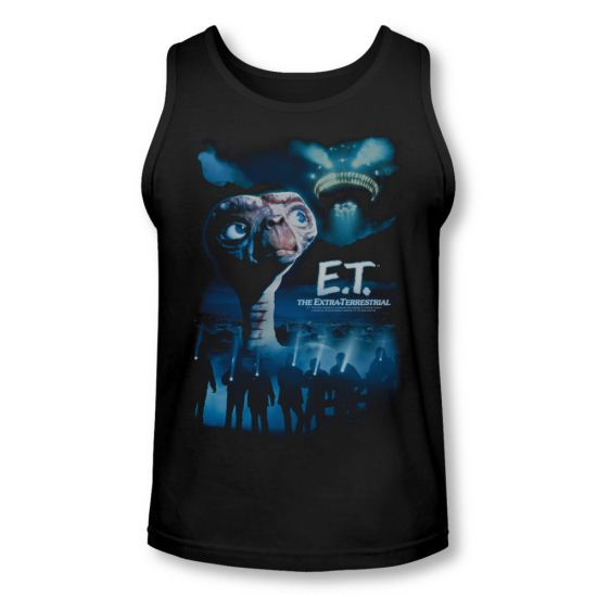ET Shirts - Extra Terrestrial Tank Top Going Home Black Tanktop
