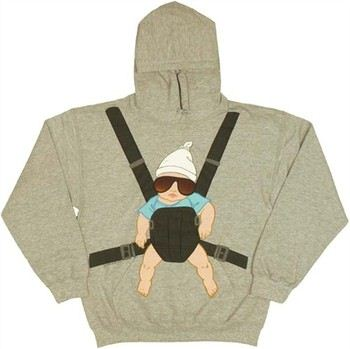 The Hangover Carlos Baby Carrier Pullover Hooded Sweatshirt