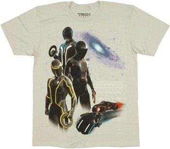 Tron Legacy Disk Bikes T-Shirt Sheer