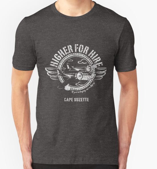 'Higher for Hire' T-Shirt by FINA Design Co. T-Shirt
