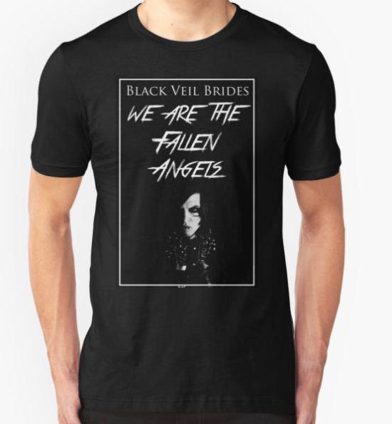 """Black Veil Brides """"Fallen Angels"""" T-Shirt by LunarFlower T-Shirt"""