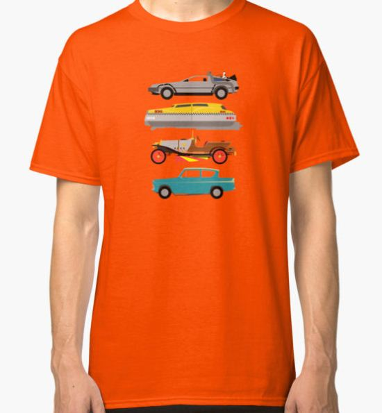 The Car's The Star: Flying Cars Classic T-Shirt by Paulychilds T-Shirt