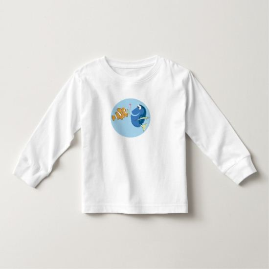 Finding Nemo's Marlin & Dory with Baby Jellyfish Toddler T-shirt