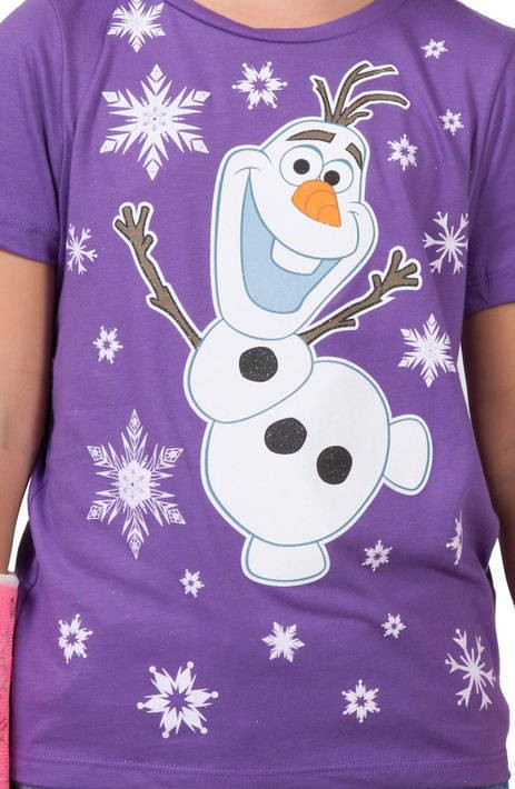 Girls Frozen Shirt